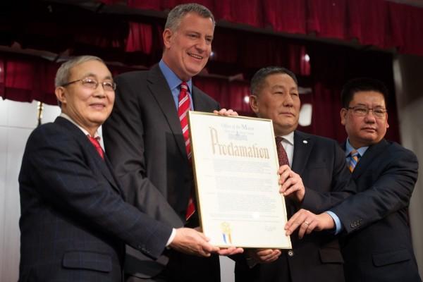 专访纽约市长:系列政策惠及纽约市移民