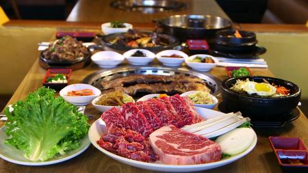洛杉矶新亭,经典的韩国美味。(大纪元)