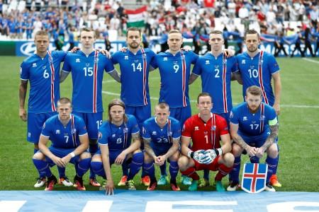 匈牙利队阵容。(Odd ANDERSEN/AFP )