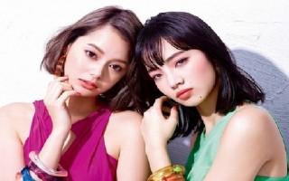 日本女孩嚮往凹凸有致的立體小顏輪廓。圖為日本女星岸本聖紫瑠(左)、小松菜奈(右)。(INTEGRATE)
