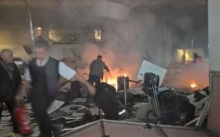28晚,土耳其伊斯坦布爾國際機場發生爆炸。(網絡圖片)