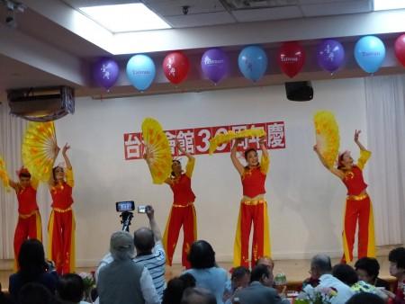 纽约台湾会馆30周年庆文艺表演。(林丹/大纪元)