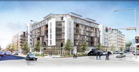 201Lexington出租型公寓附带大量商业面积。(大纪元)