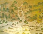 明茅元儀《武備志》載鄭和航海圖局部(公有領域)