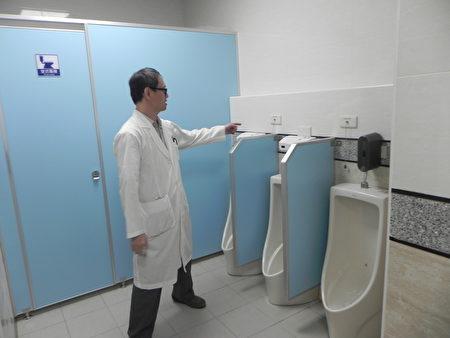 塗鴉牆意象 朴醫新式無障礙廁所啟用