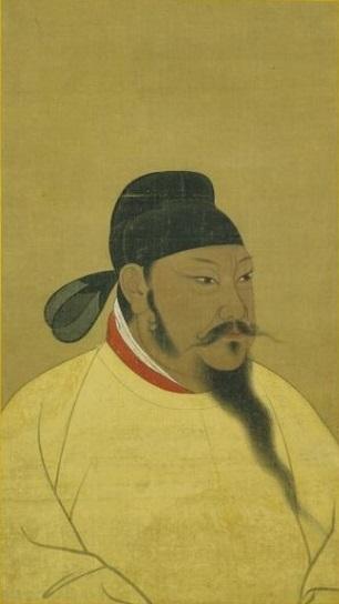 唐太宗半身像,北京故宫南薰殿旧藏,现藏台北故宫博物院。(公有领域)