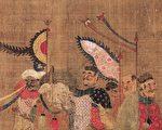 明朝《職貢圖‧女直國》局部。職貢圖是古代中國用來記載周邊國家進貢時各進貢使者的特點。(公有領域)