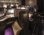 中华民国总统蔡英文上任后首次出访,据了解将搭乘华航新世代波音777-300ER客机,这架客机是由大师陈瑞宪设计,主打宋代美学,曾获得德国iF设计大奖。(华航提供)