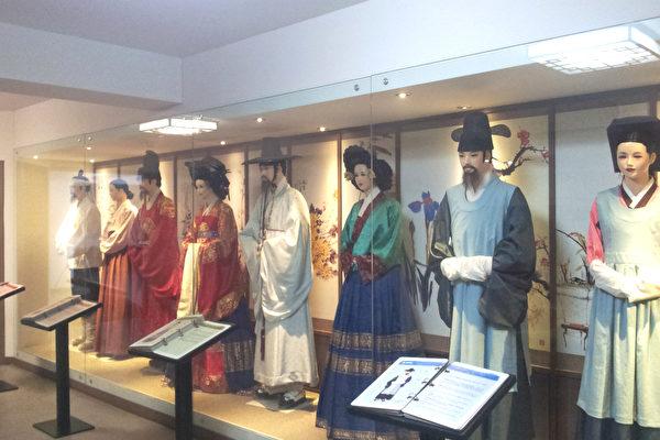 韩国釜山博物馆 免费体验韩服茶道