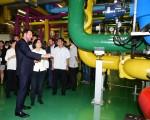 中华民国总统蔡英文总统日前参访Google台湾资料中心。(Google台湾官方专页)