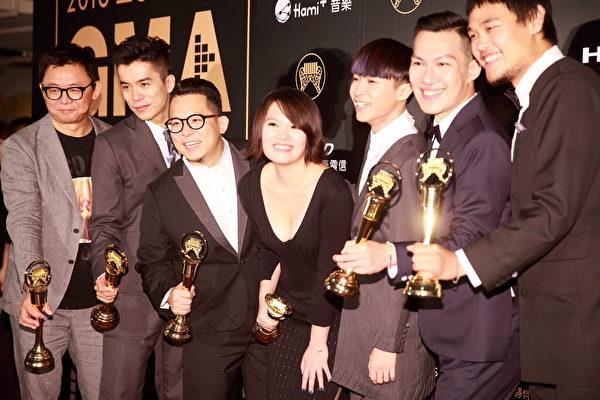 第27屆金曲獎 蘇打綠獲五獎成大贏家