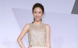 图为艺人吴姗儒于6月29日在台北举行记者会。(黄宗茂/大纪元)