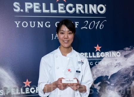 「S.PELLECRINO青年廚技2016」比賽的日本賽區的代表選手出爐。27歲的女廚師古屋聖良以「日本的四季」的料理勝出,將代表日本參加於10月13至15日在意大利米蘭舉行的決賽。(遊沛然/大紀元)