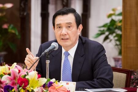 前總統馬英九。(陳柏州/大紀元)