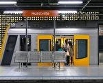 有报导指出,悉尼最危险且暴力的四个火车站分别是Hurstville、Strathfield、Lidcombe及黑镇(Blacktown)。图为好事围火车站。(安平雅/大纪元)