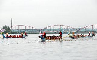 屏东龙舟竞赛 48队对决