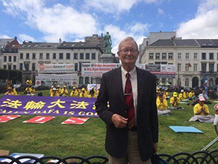 來自愛沙尼亞歐洲議會議員圖恩‧克蘭先生,反活摘聲明發起人之一,也是2013年歐洲議會通過的關於反活摘緊急決議案的發起人之一。(啟心/大紀元)