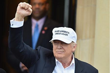 英国23日公投离开欧盟,有助共和党准提名人川普竞选总统?(Jeff J Mitchell/Getty Images)