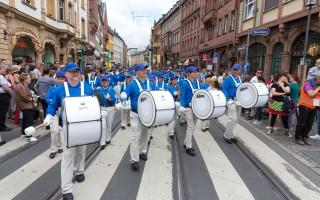 2016德國法蘭克福多元文化節 法輪功展風采