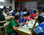 蓝绿暑假拼场延揽青年人才,25日国民党凤山党部举办青年研习。(国民党高雄市党部提供)