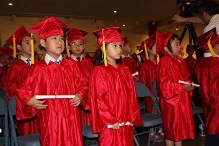 华侨中文学校幼稚园毕业仪式。