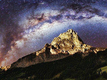 最新研究显示,全球逾80%人口暴露于光害,有1/3的人无缘见到银河。(取自免费图库Pixabay)