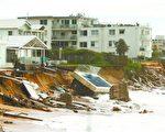 上週末,澳洲東海岸包括新州遭遇嚴重的暴風驟雨的襲擊。 (Daniel Munoz/Getty Images)