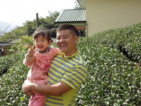劉充霈希望留給下一代回歸自然的環境。(莊宜真/大紀元)