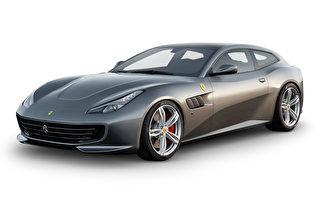 法拉利新款豪华跑车GTC4Lusso。(法拉利日本提供)