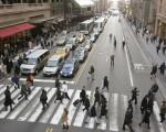 「行人路權」是紐約市「零死亡願景(Vision Zero)」的重要部份。 (DON EMMERT/AFP/Getty Images)