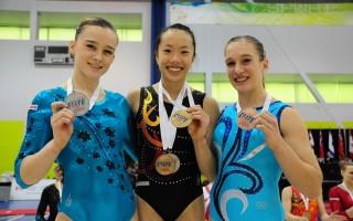 體操場上追夢十年 華裔生全獎入讀斯坦福
