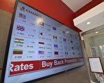 英国脱欧导致全球金融市场动荡、英镑下跌、股市收红。(加通社)