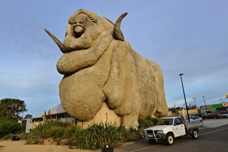Goulburn是澳洲新洲最早的內陸城鎮,距離悉尼195公里,離堪培拉92公里。有名的大綿羊來到澳洲首先在此地落戶。(簡沐/大紀元)