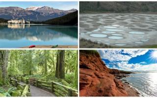 加拿大美麗自然景觀遍布全國,美不勝收的美景總是讓驚艷不已。(維基百科公有領域)