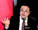 星展经济研究部高级经济师梁兆基表示,中国经济未来都会处于一个下行的轨道。(余钢/大纪元)