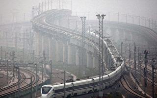 北京-上海的高鐵項目花費3年時間建成,耗資325億美元。(ChinaFotoPress/Getty Images)