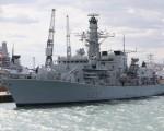 欧盟各国领袖将于2016年6月28日在布鲁塞尔举行峰会,讨论英国脱离欧盟后的问题。本图为英国皇家海军23型护卫舰HMS威斯敏斯特号,是派驻地中海的维护区域安全的船舰。(Oli Scarff/Getty Images)
