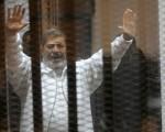 埃及前总统穆尔西。     (STR/AFP/Getty Images)