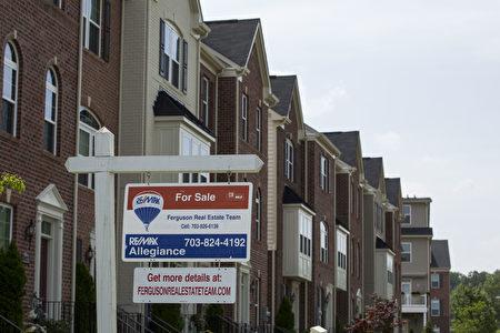 位于美国华盛顿特区的一处新建房工地。 (Drew Angerer/Getty Images)