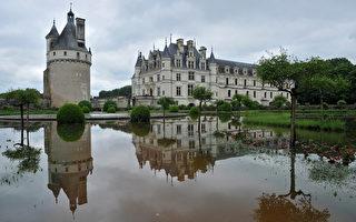 法国 巴黎 铁塔 洪水 塞纳河