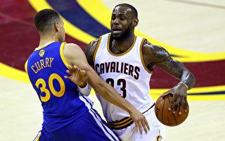 NBA骑士陷1比3劣势扳平 与勇士周日总决赛