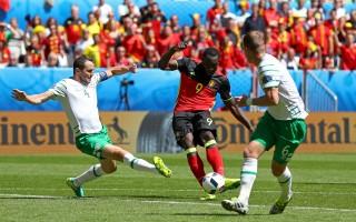 组图:卢卡库梅开两度 比利时3:0完胜爱尔兰