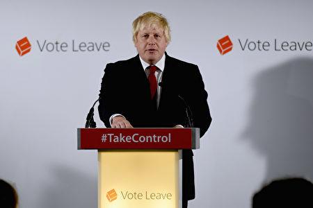 约翰逊是前伦敦市市长,现任伦敦阿克斯布里奇和南赖斯利普区的议会议员,力主脱欧,未来首相的热门人选。(Mary Turner - WPA Pool/Getty Images)