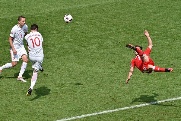 点球大战波兰6:5险胜瑞士 晋级八强