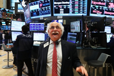 欧美股市在跌深之后,从周二开始出现反弹。(Spencer Platt/Getty Images)