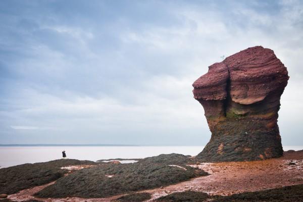 新不伦瑞斯克霍普威尔岩(维基百科公共领域)