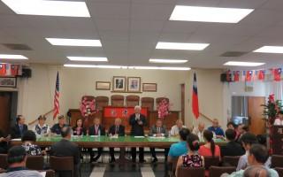 庆祝美国国庆,中华会馆暨侨团将在7月4日上午11时举行隆重升旗典礼,表达爱国精神。(袁玫/大纪元)
