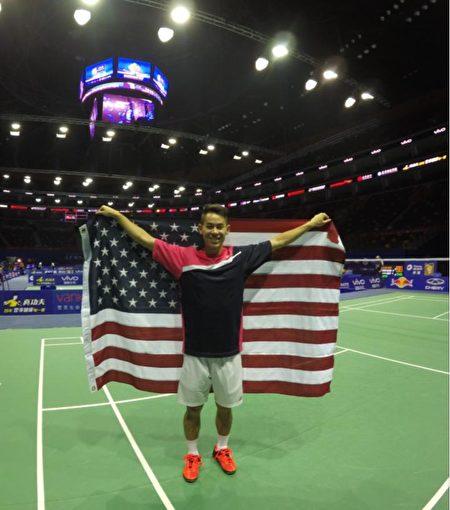 舒之颢代表美国参加团体赛锦标赛无数次。(舒之颢提供)