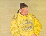 唐太宗李世民立像,台北故宮博物院藏。(公有領域)