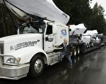 实行边境新规后,加拿大司机在美国停留的天数将被记录,可能导致需交美国税。(加通社)